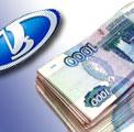 В 2004 году зарплата работников АвтоВАЗа увеличилась на 10,5%