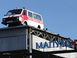 В Тольятти появился памятник рижскому автомобилю
