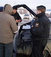 Сотрудники ГИБДД Тольятти выявляют злостных неплательщиков