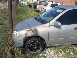 В Тольятти женщина-водитель врезалась в препятствие