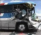 В Хабаровске столкнулись грузовик и автобус: есть пострадавшие