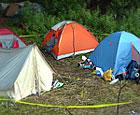 На 125-м километре пройдет туристический лагерь добровольцев