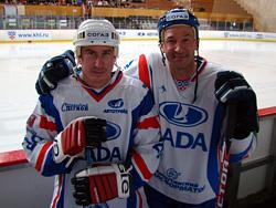 Александр Нестеров и Сергей Светлов