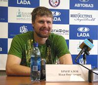 Илья Брызгалов в Тольятти: о себе и о Кубке Стэнли