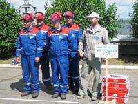 Команда Жигулевской ГЭС заняла 1 место на соревнованиях оперативного персонала