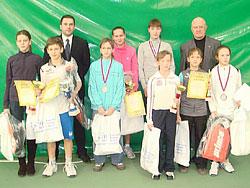 В Тольятти завершился турнир по теннису ''Кубок Самарской губернии''