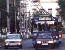 В Тольятти у троллейбуса отказали тормоза, и он врезался в машину