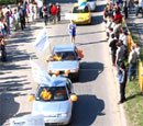 Участники автопробега возвращаются в Тольятти