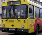 На линию вышли автобусы маршрута №8