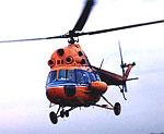 В Казани разбился вертолет Ми-2