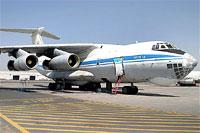Пилот Ил-76 заявил, что груз предназначался для Украины