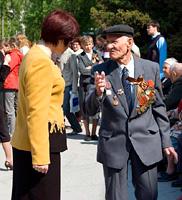 В Тольятти прошла акция для ветеранов ''Автобус Победы''