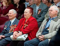 Ветеранам ВОВ вручили юбилейные медали