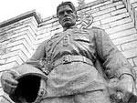 В Сочи установили копию Бронзового солдата